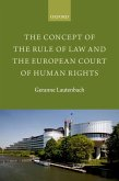 The Concept of the Rule of Law and the European Court of Human Rights (eBook, ePUB)