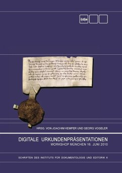 Digitale Urkundenpräsentationen (eBook, ePUB)