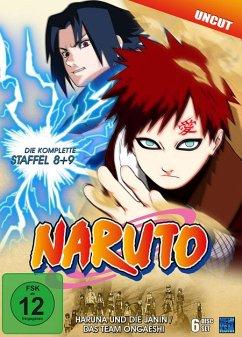 Naruto Staffel 8 & 9: Folge 184-220