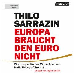 Europa braucht den Euro nicht (MP3-Download) - Sarrazin, Thilo