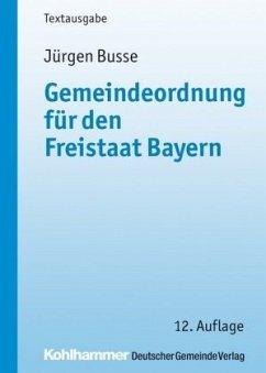 Gemeindeordnung für den Freistaat Bayern