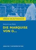 Die Marquise von O... von Heinrich von Kleist.