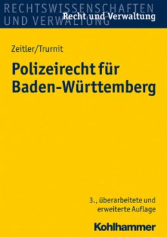 Polizeirecht für Baden-Württemberg