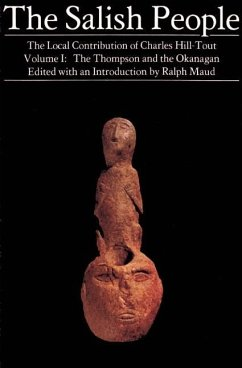 The Salish People: Volume I (eBook, ePUB) - Hill-Tout, Charles