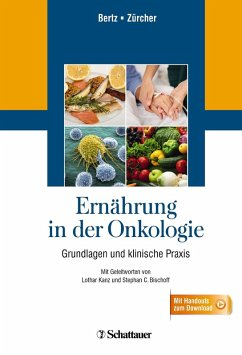 Ernährung in der Onkologie (eBook, PDF) - Bertz, Hartmut; Zürcher, Gudrun