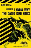 CliffsNotes on Angelou's I Know Why the Caged Bird Sings (eBook, ePUB)