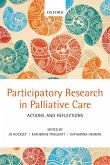 Participatory Research in Palliative Care (eBook, PDF)