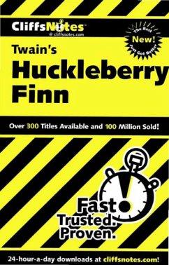 CliffsNotes on Twain's The Adventures of Huckleberry Finn (eBook, ePUB) - Bruce, Robert