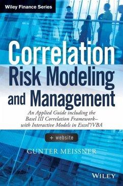 Correlation Risk Modeling and Management (eBook, PDF) - Meissner, Gunter