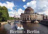 Berlin - Berlin (Wandkalender immerwährend DIN A4 quer)