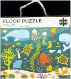Bodenpuzzle - Floor Puzzle Fische (Kinderpuzzle)
