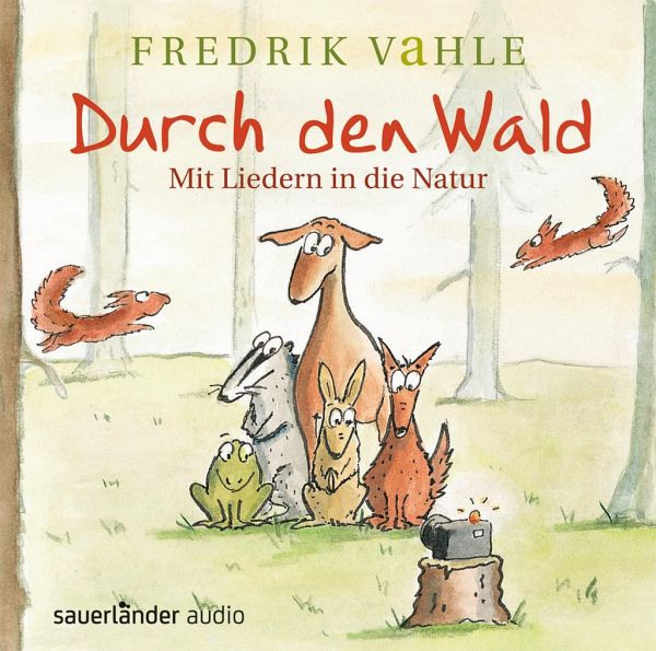 durch den wald 1 audio cd von fredrik vahle. Black Bedroom Furniture Sets. Home Design Ideas