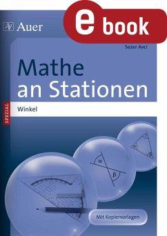 Mathe an Stationen Spezial Winkel (eBook, PDF) - Avci, Sezer