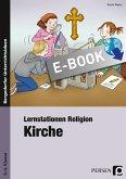 Lernstationen Religion: Kirche (eBook, PDF)