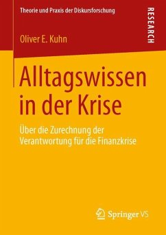Alltagswissen in der Krise - Kuhn, Oliver E.