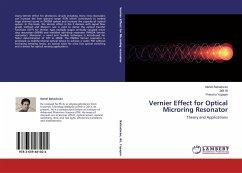 Vernier Effect for Optical Microring Resonator