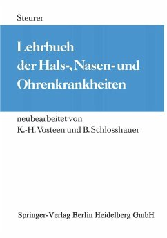 Lehrbuch der Hals-, Nasen- und Ohrenkrankheiten