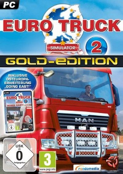 euro truck simulator 2 gold edition pc spiel b. Black Bedroom Furniture Sets. Home Design Ideas