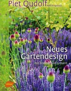Neues Gartendesign mit Stauden und Gräsern. Son...
