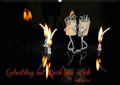 Bjork van Kork / Geburtstagskalender (Wandkalender immerwährend DIN A2 quer)