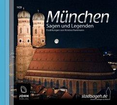 München - Sagen und Legenden, 1 Audio-CD