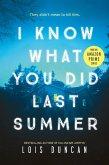 I Know What You Did Last Summer (eBook, ePUB)