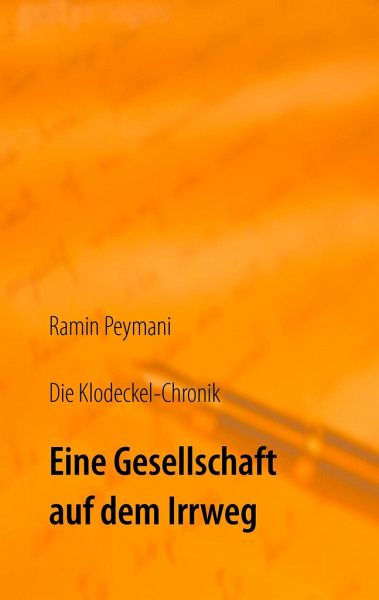 die klodeckel chronik von ramin peymani buch. Black Bedroom Furniture Sets. Home Design Ideas