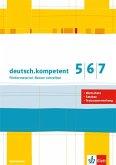 deutsch.kompetent: Fördermaterial: Besser schreiben - Kopiervorlagen 5.-7. Klasse
