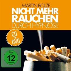 Nicht mehr rauchen durch Hypnose, 1 Audio-CD + 1 DVD - Bolze, Martin