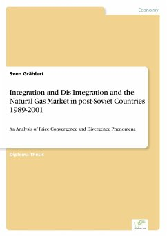 Integration and Dis-Integration and the Natural Gas Market in post-Soviet Countries 1989-2001