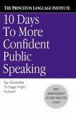 10 Days to More Confident Public Speaking (eBook, ePUB)