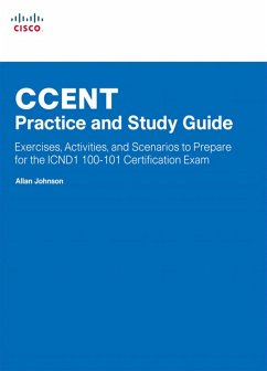 CCENT Practice and Study Guide (eBook, PDF) - Johnson, Allan