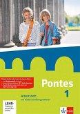Pontes 1. Arbeitsheft mit Audio-CD und CD-ROM