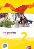 Tous ensemble 2. Cahier d'activités mit MP3-CD und Vokabeltrainer. Ausgabe 2013