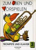 Zum Üben und Vorspielen, Trompete + Klavier