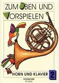Zum Üben und Vorspielen, Horn + Klavier