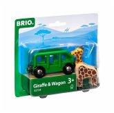 BRIO 33724 - Giraffenwagen