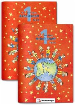 ABC der Tiere 1 · Arbeitsheft Teil A und B - zu Lesen in Silben (Die Silbenfibel®) · Ausgabe Bayern - Kuhn, Klaus
