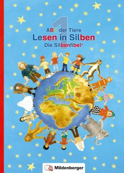 ABC der Tiere 1 - Lesen in Silben (Die Silbenfibel®). Ausgabe Bayern - Kuhn, Klaus