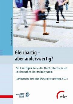 Gleichartig - aber anderswertig? (eBook, PDF) - Schröder-Kralemann, Ann-Katrin; Delplace, Stefan; Weber, Andreas