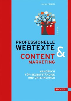 Professionelle Webtexte & Content Marketing (eBook, PDF) - Firnkes, Michael
