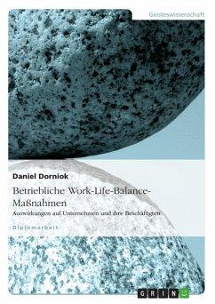 Betriebliche Work-Life-Balance-Maßnahmen (eBook, ePUB)