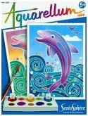 Aquarell-Malerei - Aquarellum Mini Delfine