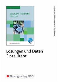 Berufliche Informatik Office 2013. CD-ROM