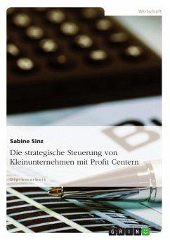 Strategische Steuerung von Kleinunternehmen mit Profit Centern (eBook, ePUB)