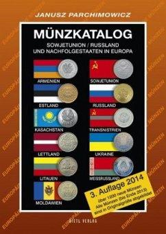 Münzkatalog Russland/Sowjetunion und Nachfolgestaaten in Europa - Parchimowicz, Janusz