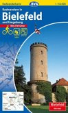 BVA Radwanderkarte Radwandern in Bielefeld und Umgebung