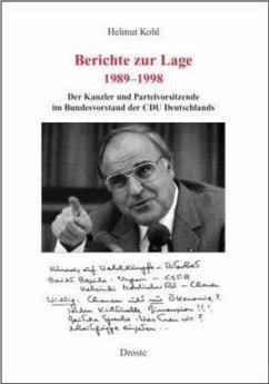 Berichte zur Lage 1982-1989 - Kohl, Helmut