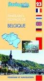 Fluviacarte 23 Belgique - Itinéraires fluviaux