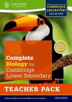 Complete Biology for Cambridge Secondary 1 Teacher Pack - Large, Pam